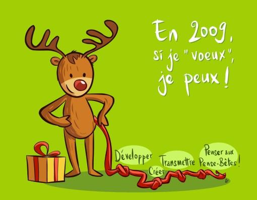 Les Pense-Bêtes vous souhaitent une bonne année !